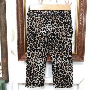 Leopard Corduroy Pants Size 2T